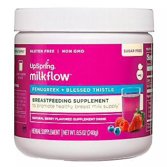 Upspring milkflow natural berry breastfeeding health supplement, 8.5oz