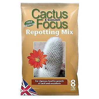 CACTUS Jord -CACTUS Focus Repotting mix 8 liter (1)
