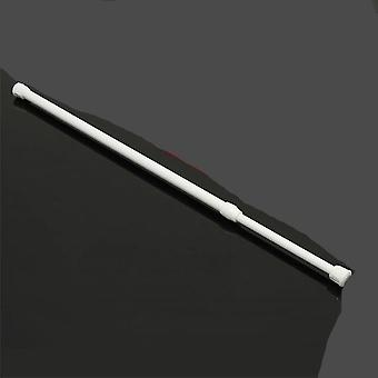 Spring Telescopic Net Voile Tension Curtain Rail Loaded Pole Rod Iron