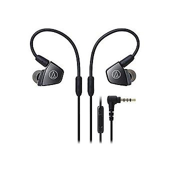 Audio-technica ath-ls300is in-ear trippel armatur driver hodetelefoner med in-line mic & Kontroll