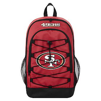 FOCO Backpack NFL Backpack - BUNGEE San Francisco 49ers