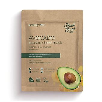 Beauty Pro Natura Avocado Infused Sheet Mask