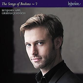 Benjamin Appl - Brahms: The Complete Songs 7 [CD] USA import