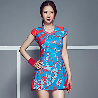 Spring / Summer Badminton Dress, Women Tennis Clothes Suit Sport