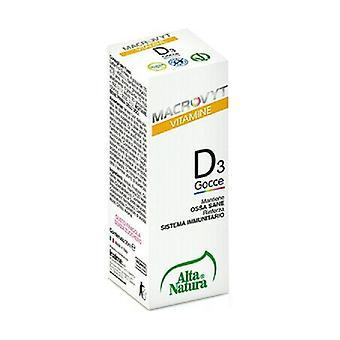 Vitamin D3 Drops Macrovyt None
