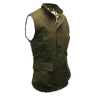 Walker and Hawkes - Mens Wax Countrywear Bodywarmer