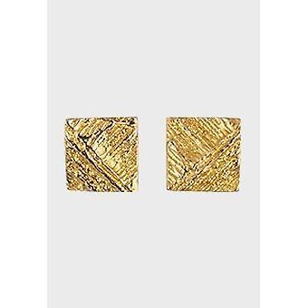 Kalevala Earrings Women Facet 14K Gold 1651270T