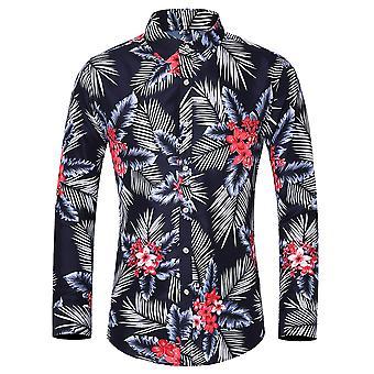 חולצת פסים אנכית של יאנגפנה לגברים