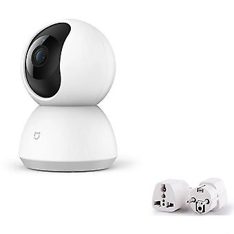 Smart Camera With 1080p And Night Vision Webcam -360 Angle
