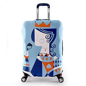 Modèles de reine protecteur de bagages de voyage