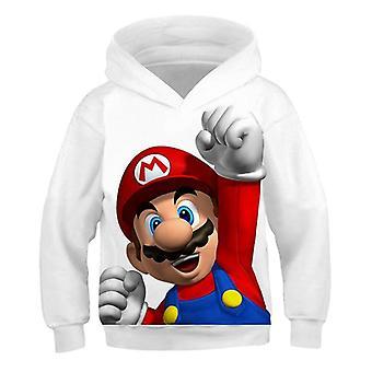 3d print myk hettegenser tegneserie klær hette sweatshirt