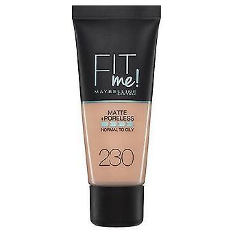 Maybelline New York Fit Me Matte + Poreless Foundation - 230 Buff naturel