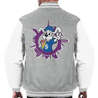 Slush Puppie Distressed World Background Men's Varsity Jacket