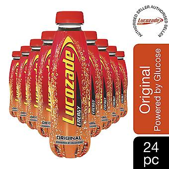 Lucozade Original Powered by Glucose Energy Drink 380ml, 24 Pack