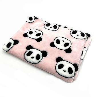 Pet Tæppe Cute Hund Måtter Soft Flannel Fleece Varme sovesenge Cover Mat