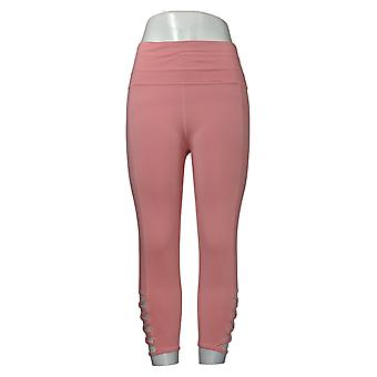 Tracy Anderson For G.I.L.I. Leggings Regular W/ Cutout Detail Pink A355137