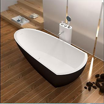 Kiinteä pinta kivi cupc hyväksyntä kylpyamme suorakaiteen muotoinen freestanding corian matt