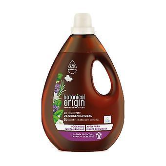 Liquid Organic Laundry Detergent Fragrance Fresh Jasmine and Wild Lavender 35 doses 1,58 L