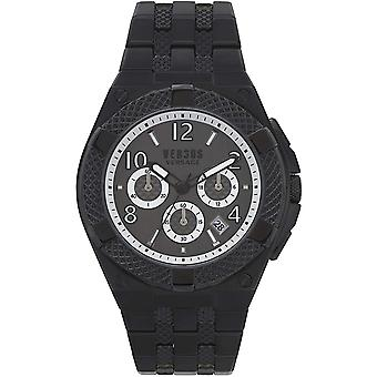 Versus by Versace Men's Watch Wristwatch Chrono Esteve VSPEW0419 Stainless Steel