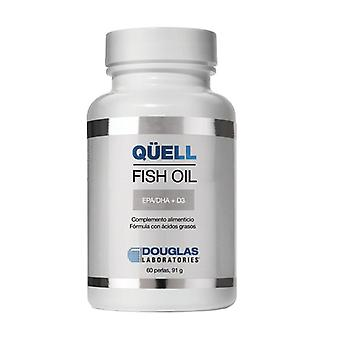 Qüell Fish Oil EPA / DHA + Vitamin D3 60 softgels