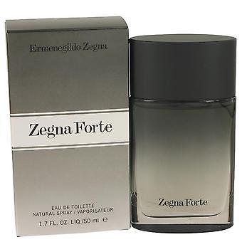 Zegna Forte Eau De Toilette Spray By Ermenegildo Zegna 1.7 oz Eau De Toilette Spray