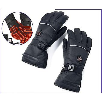 Winter Thermal Gloves Waterproof Electric Heated Gloves