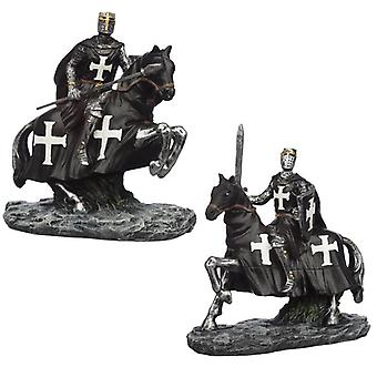 Cavaleiro das Trevas Colecionável na estatueta a cavalo 2 fornecido
