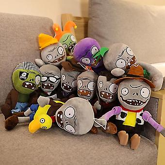 Plants Vs Zombies, Plush, Stuffed Cartoon Game Toy For, Sunflower Figure Doll,