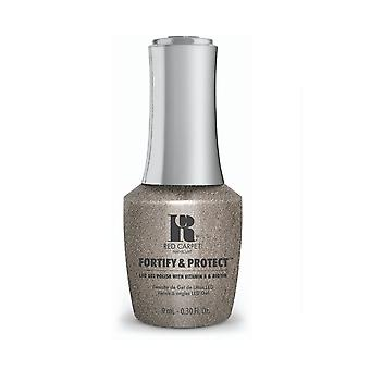 Red Carpet Manicure Fortify & Protect Gel Polish - Silver Upswing