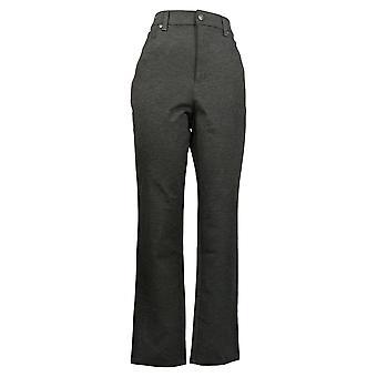 Gloria Vanderbilt Women's Pants Amanda Ponte Gray 1436869
