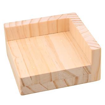 Træ Møbler Opbevaring Riser Bed Lifters 9.8x9.8CM Feet 3CM Lift Højde