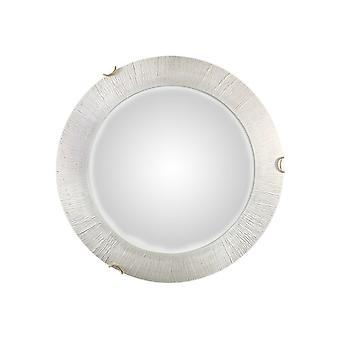 Kolarz MOON - Integrert LED Livsstil Glass Enkel Flush Tak Lys Gull - Sol Hvit Finish