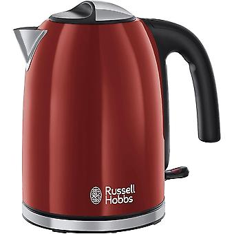 Gerui Colour Plus Kettle 20412, Stainless Steel, 3000 W, 1.7 Litre, Flame Red