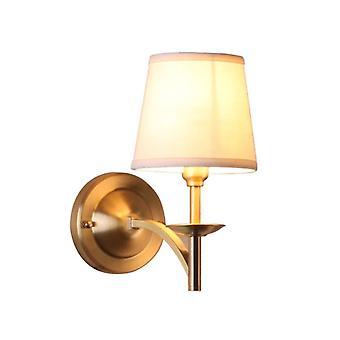 Lámpara de pared de dormitorio minimalista estadounidense