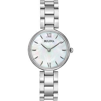 ブローバ96L229女性クラシックスチールブレスレット腕時計