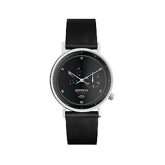 KOMONO Walther retrograde black - reloj unisex