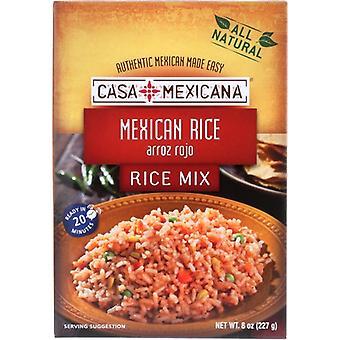 Casa Mexicana Rice Mexican, Case of 12 X 8 Oz