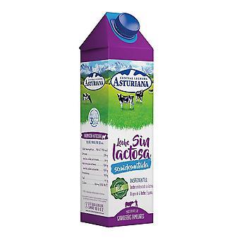 Latte parzialmente scremato Central Lechera Asturiana Lattosio libero (1 L)