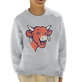 The Laughing Cow Modern Logo Kid's Sweatshirt