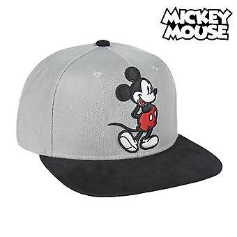 Child Cap Mickey Mouse 73346 (59 cm) Grey Black