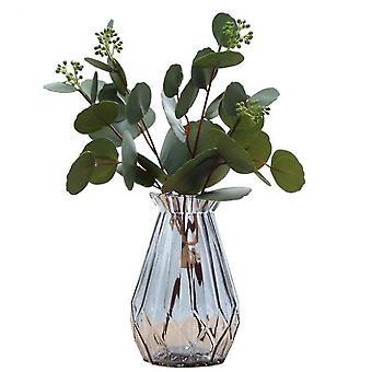 12 confezioni di piante finte in vaso piante di eucalipto di plastica artificiale (Style2)