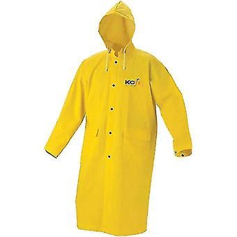 방수 및 방풍 중장비 방수 및 통기성 우비 Pvc 긴 비옷 (XL)