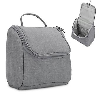 Cosmetic Travel Bag - Cosmetic Bag Toiletry Bag with Carrying Handle and Zipper