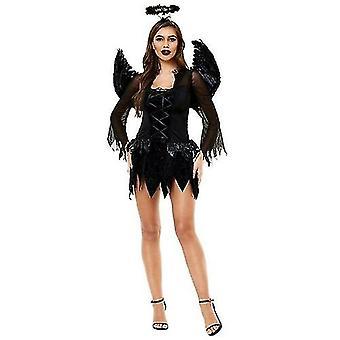 Halloween Cosplay Kostuums Feather Angel Fairy Wing Fantasy Dress