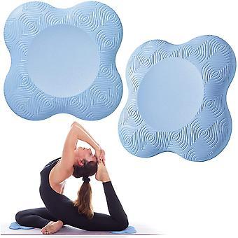 2pcs Yoga Genouillères Tapis de yoga Genouillères légères