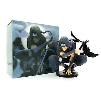 Naruto Charakter Uchiha Hocken Itachi Modell Dekoration Anime Auto Spielzeug