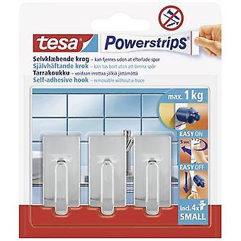 tesa 57540-12-01 Tesa Tur ® Kroker Liten Klassisk Chrome Innhold: 3 stk(er)