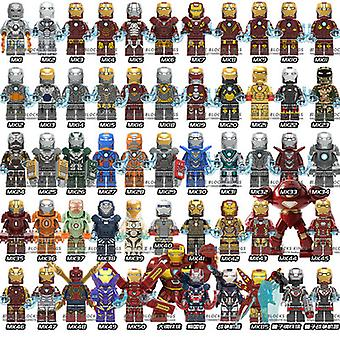 Marvel Avengers geassembleerd bouwsteen speelgoed