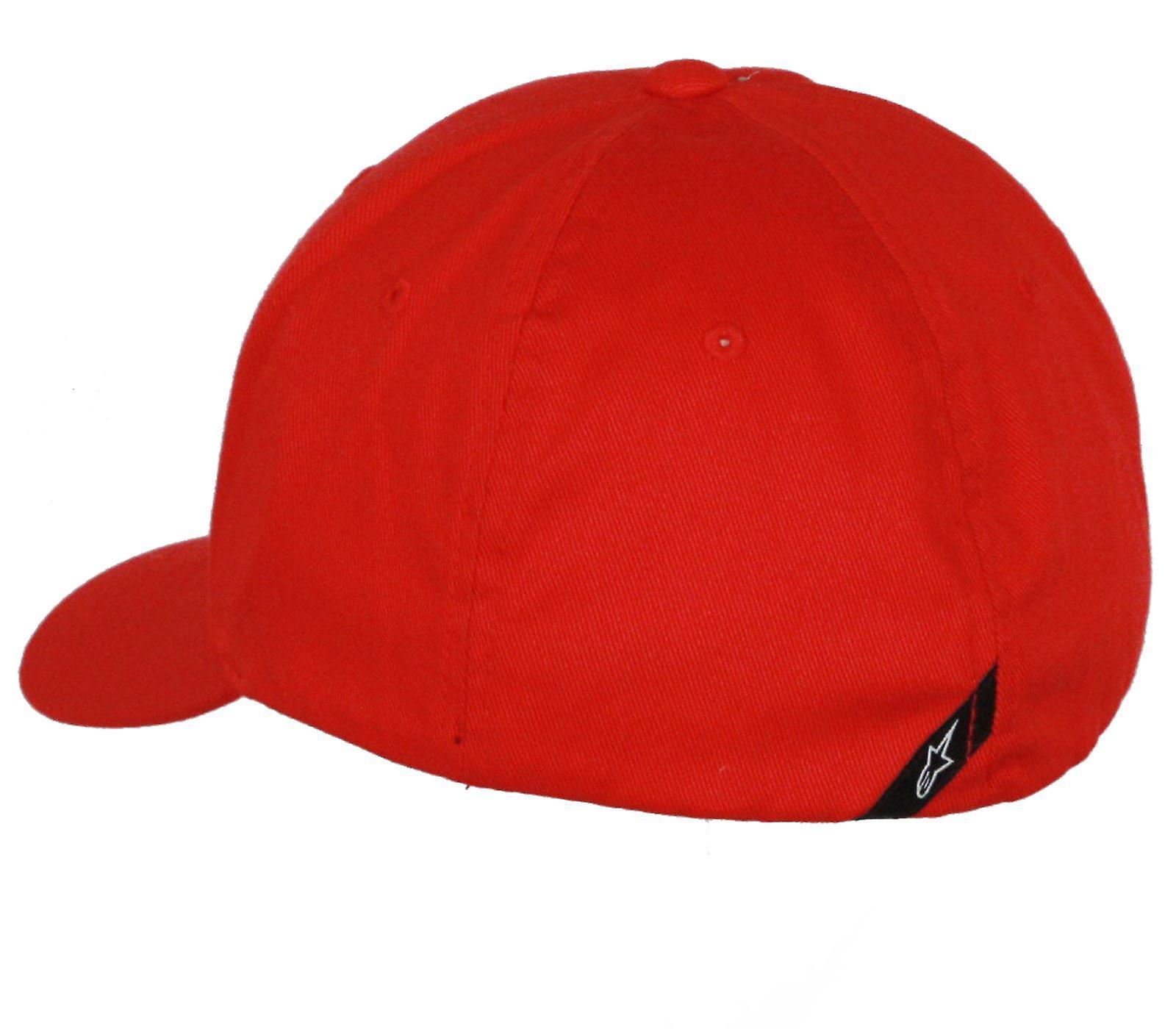 Alpinestars Flexfit Curve Cap ~ Blaze r/bk