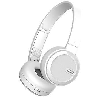 JVC foldbar Bluetooth på øret hovedtelefoner - White (Best.nr. HAS40BTWE)